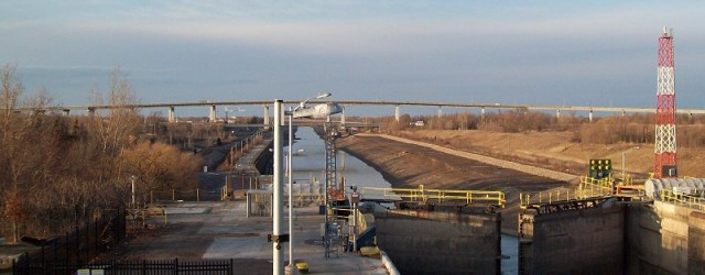 The Welland Canal and the locks are routinely drained each winter for inspection and repair in order to keep the flow of boat traffic moving during the shipping season.