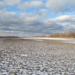 Welland Canal drained